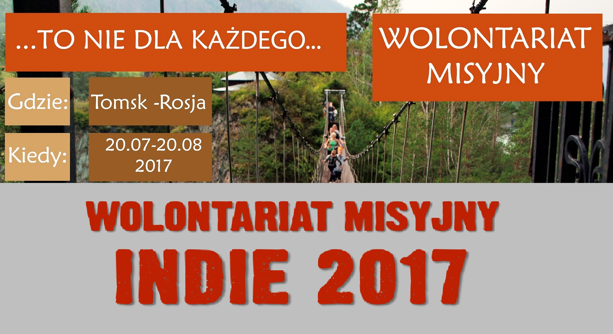 Wolontariaty 2017: KRAKÓW i WARSZAWA