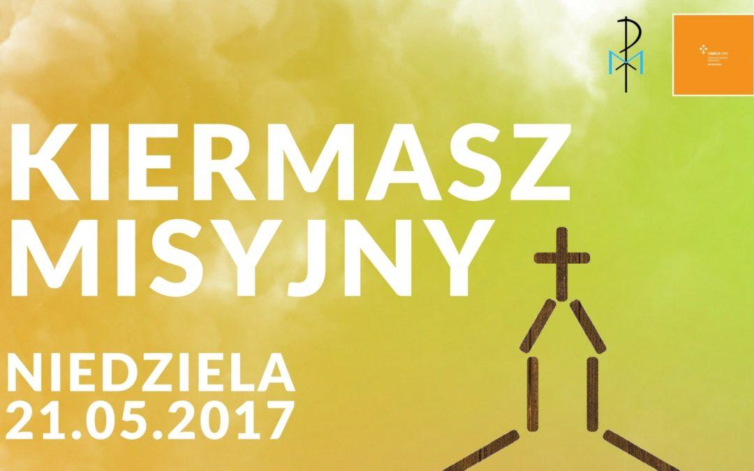 Kiermasz misyjny 21.05.2017