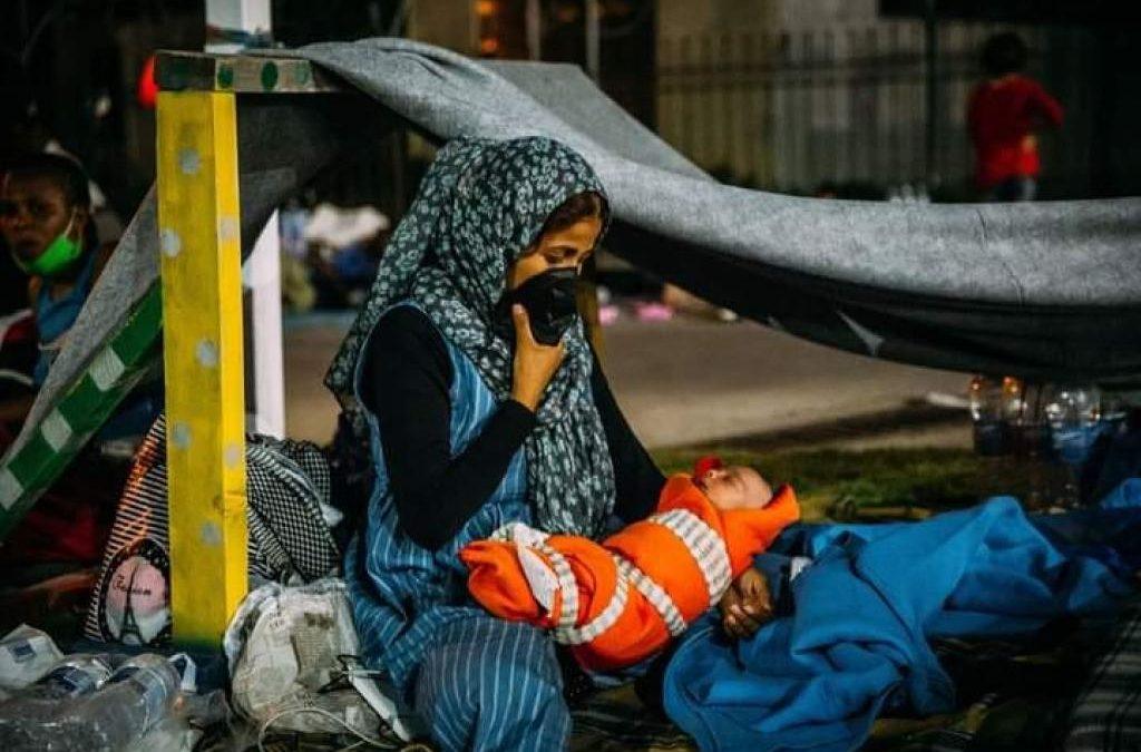 Apel Sant'Egidio, Jesuit Refugee Service i Boromeuszek o przyjęcie uchodźców z Lesbos