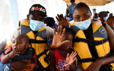 Powrót pierwszych uchodźców – Demokratyczna Republika Konga