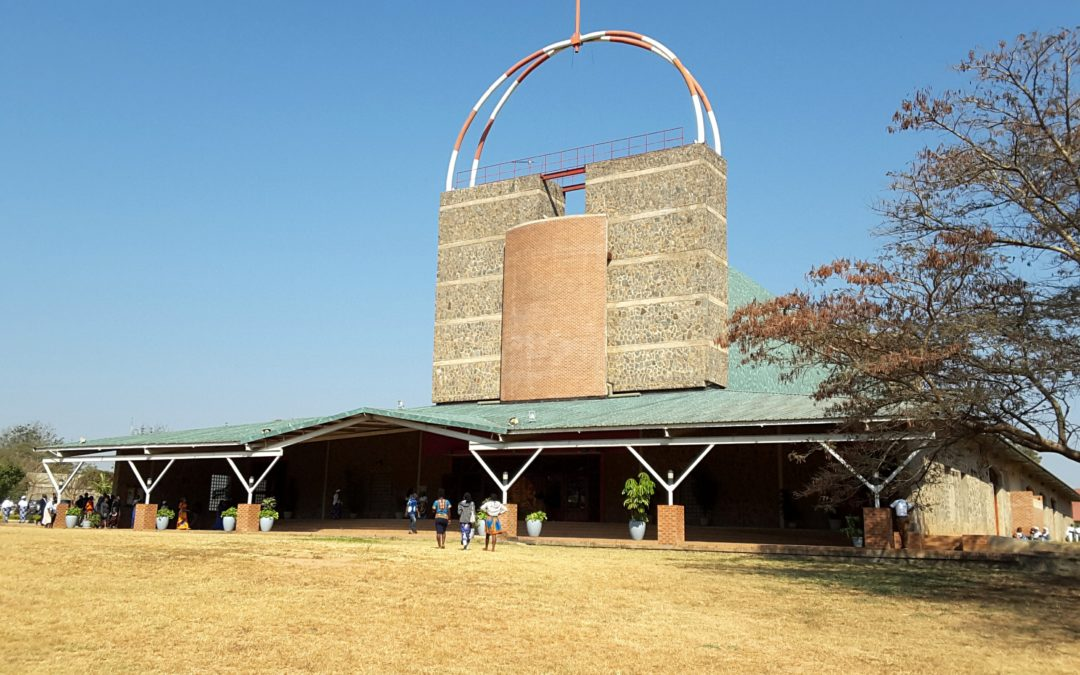 Jan Paweł II w Zambii