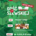 Projekt Zambia w Misji na Szewskiej - online na Facebook Live