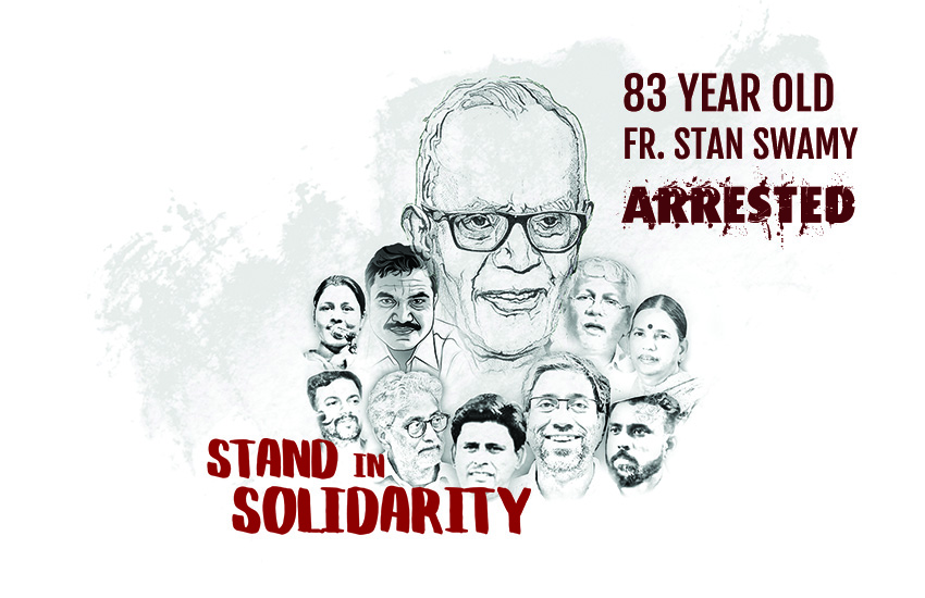 Calling for the immediate release of Fr. Stan Swamy SJ
