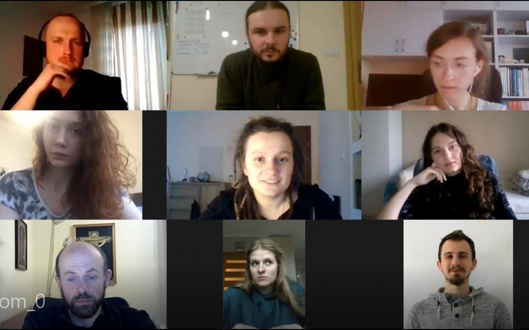 """Spotkanie z wolontariuszami projektu """"DOBRO -> Podaj Dalej"""""""