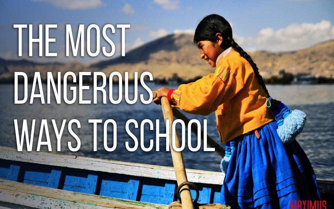 Przeprawa do szkoły – Peru