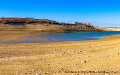 Недостаток воды в Крыму