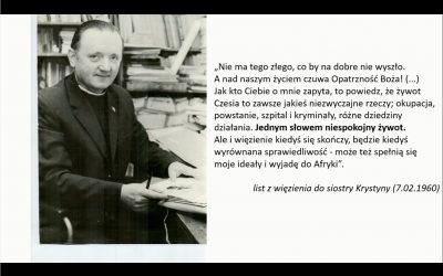 Wieczór dla o. Czesława Białka w Poznaniu