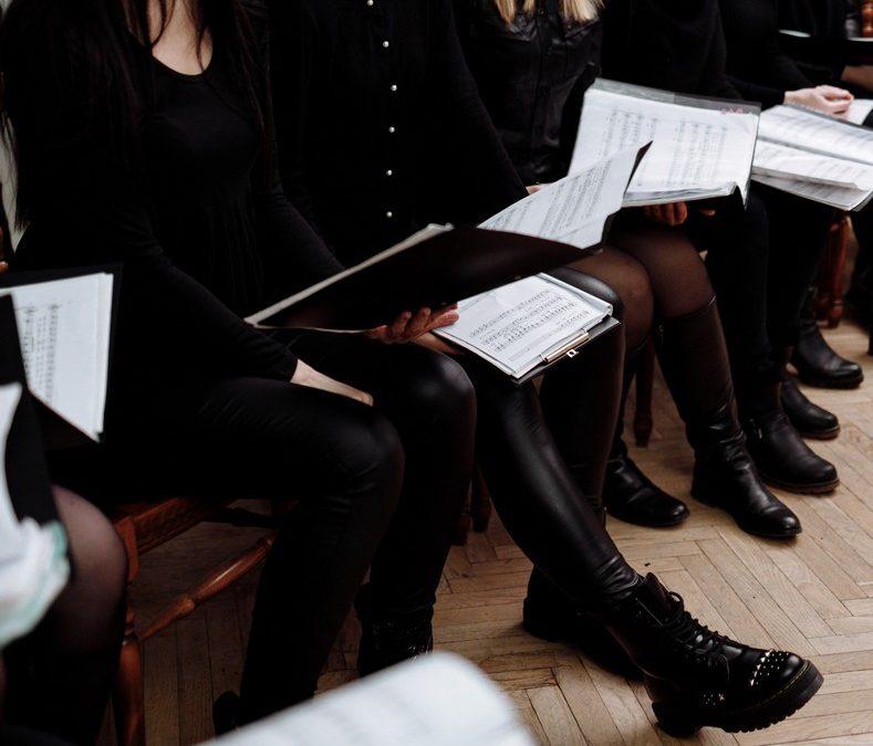 Audition for an international choir